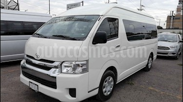 Toyota Hiace 5p L4/2.7 Man 15/Pas usado (2018) color Blanco precio $420,000