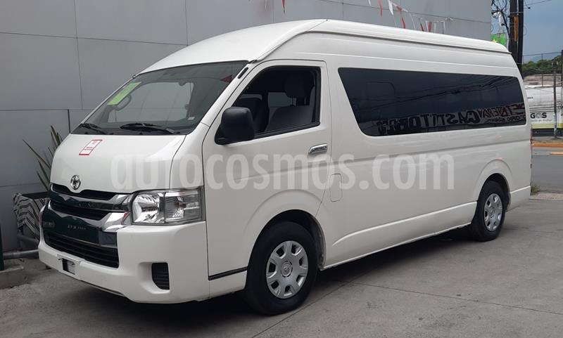 Toyota Hiace 2.7L Ventanas Superlarga usado (2014) color Blanco precio $315,000
