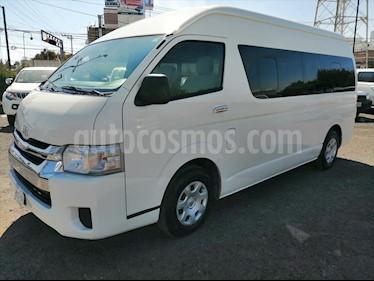 Toyota Hiace 2.7L Bus 15 Pas usado (2017) color Blanco precio $382,000