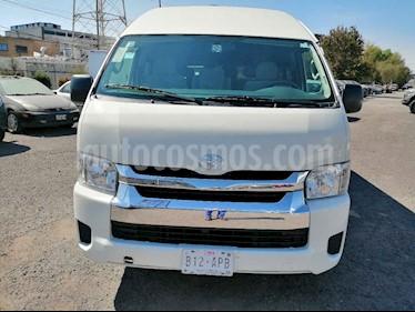 Toyota Hiace 5p L4/2.7 Man 15/Pas usado (2017) color Blanco precio $380,000