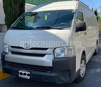 Toyota Hiace 2.7L Panel Super Larga usado (2017) color Blanco precio $295,000