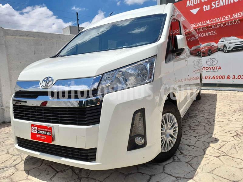 Toyota Hiace 3.5L 12 Pas usado (2020) color Blanco precio $498,000