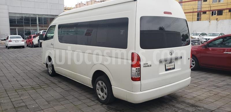 Toyota Hiace 2.7L Bus 15 Pas usado (2014) color Blanco precio $279,000