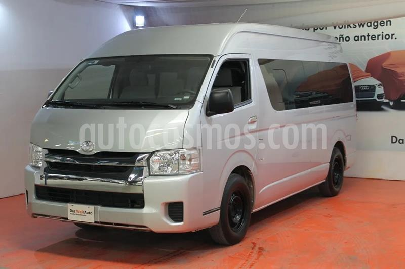 Toyota Hiace 2.7L Bus 13 Pas usado (2019) color Gris precio $450,000