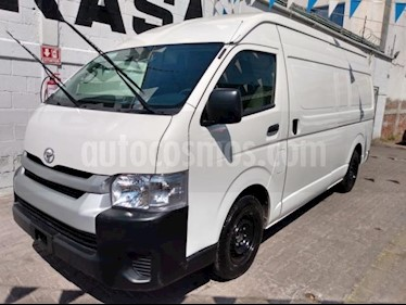 Toyota Hiace 5P DX SUPERLARGA TM5 TOLDO ALTO usado (2018) color Blanco precio $330,000