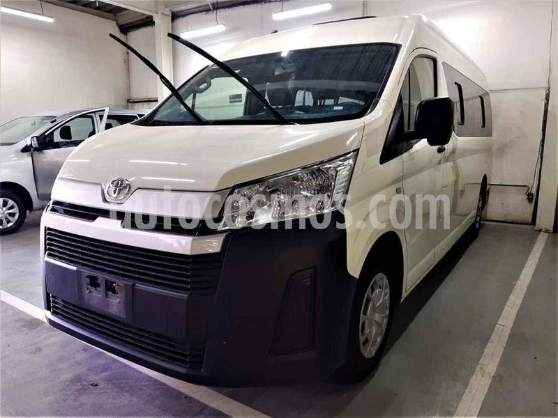 Toyota Hiace 2.7L Ventanas Superlarga usado (2020) color Blanco precio $415,000