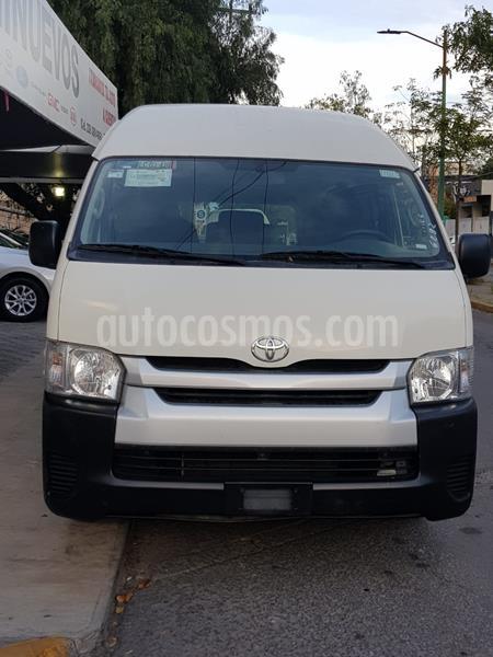 Toyota Hiace 2.7L Bus 15 Pas usado (2018) color Blanco precio $319,000