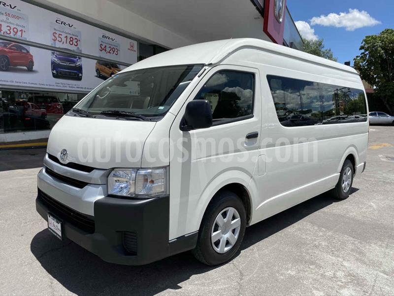 Toyota Hiace 2.7L Ventanas Superlarga usado (2019) color Blanco precio $368,000
