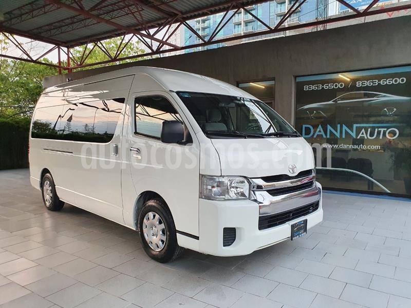 Toyota Hiace 2.7L Bus 15 Pas usado (2015) color Blanco precio $329,000