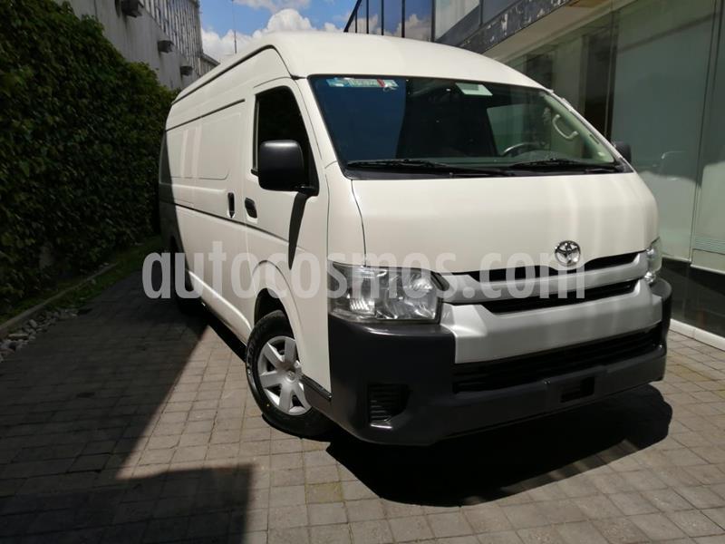 Toyota Hiace 2.7L Van Super Larga usado (2018) color Blanco precio $328,000