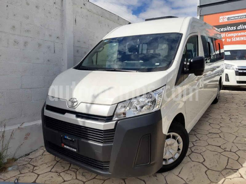 Toyota Hiace 2.7L Panel Super Larga usado (2020) color Blanco precio $415,000