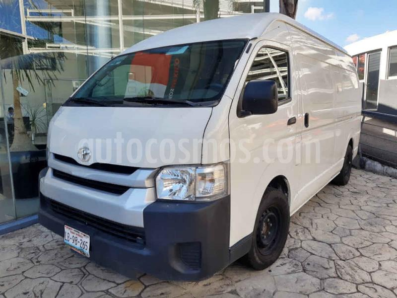 Toyota Hiace 2.7L Panel Super Larga usado (2018) color Blanco precio $315,000