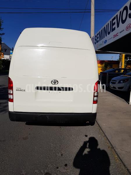 Toyota Hiace 2.7L Panel Larga usado (2018) color Blanco precio $319,000