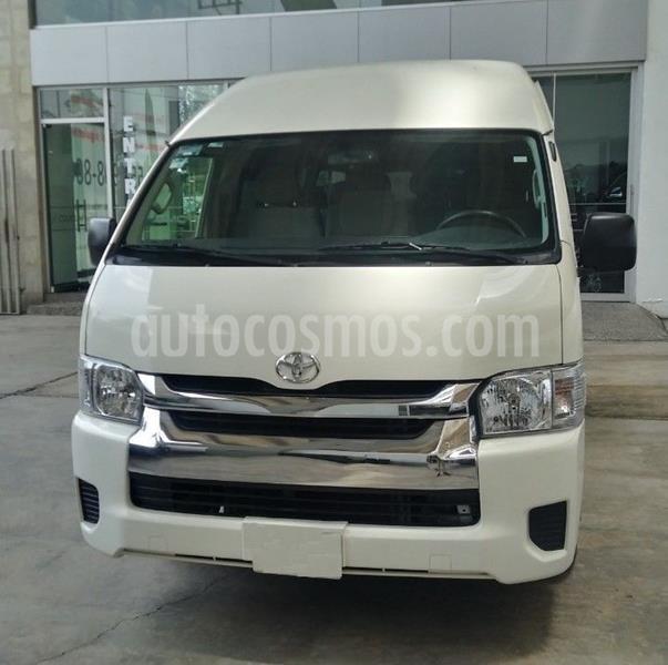 Toyota Hiace 2.7L Bus 15 Pas usado (2014) color Blanco precio $280,000