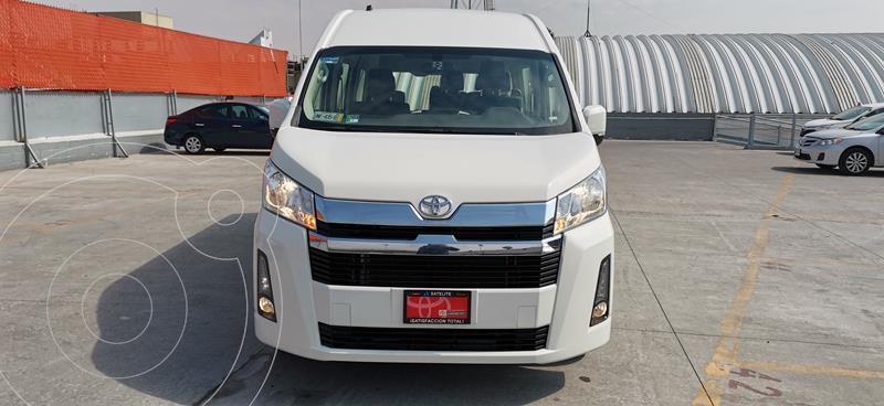 Toyota Hiace 3.5L 12 Pasajeros usado (2020) color Blanco precio $555,000