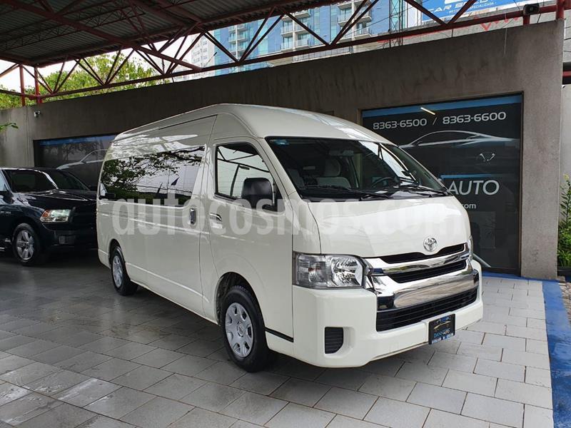 Toyota Hiace 2.7L Bus 15 Pas usado (2018) color Blanco precio $429,000