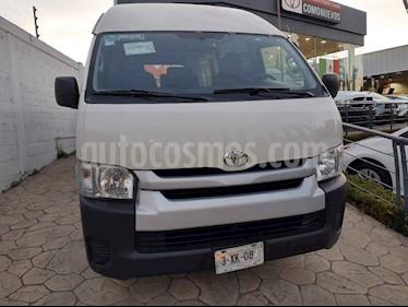 Toyota Hiace 5p Panel Superlarga L4/2.7 Man usado (2018) color Blanco precio $355,000