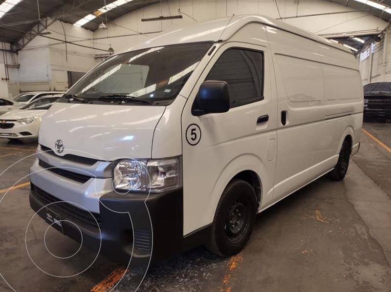 Foto Toyota Hiace 2.7L Van Super Larga usado (2019) color Blanco precio $390,000