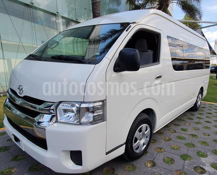 Toyota Hiace 2.7L Bus 15 Pas usado (2019) color Blanco precio $558,000