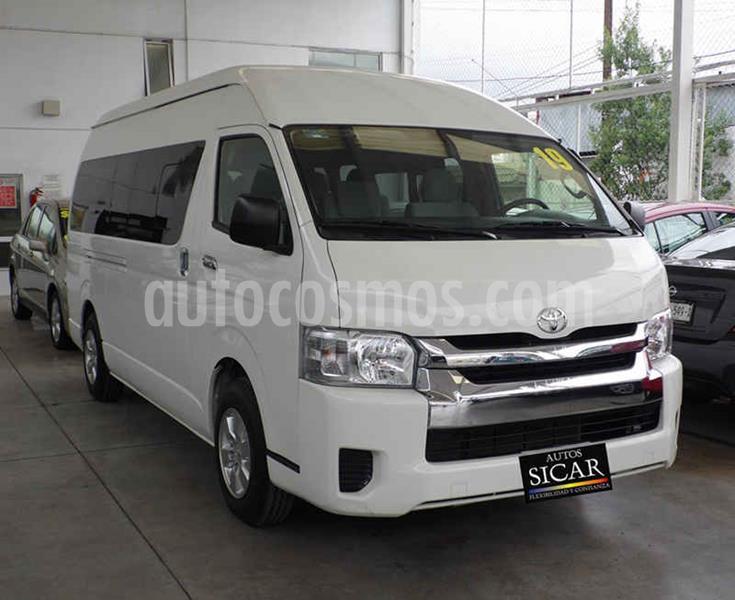 Toyota Hiace 2.7L Ventanas Superlarga usado (2019) color Blanco precio $449,000