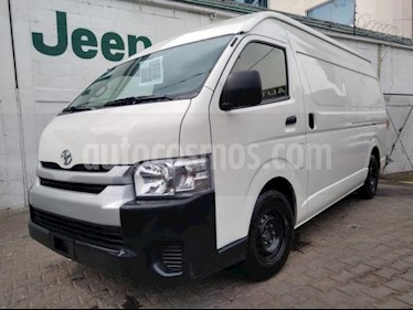 Toyota Hiace 5P DX SUPERLARGA TM5 TOLDO ALTO usado (2018) color Blanco precio $365,000
