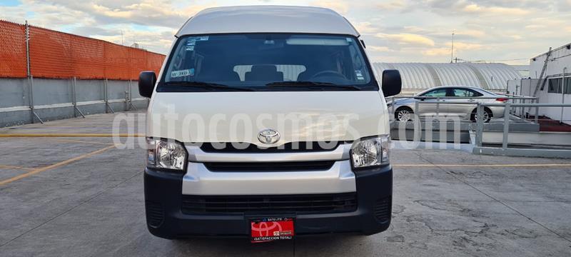 Toyota Hiace 2.7L Panel Larga usado (2019) color Blanco precio $379,000