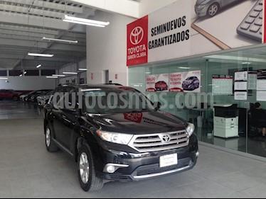 Foto venta Auto usado Toyota Highlander 5p Base V6/3.5 Aut (2013) color Negro precio $238,000