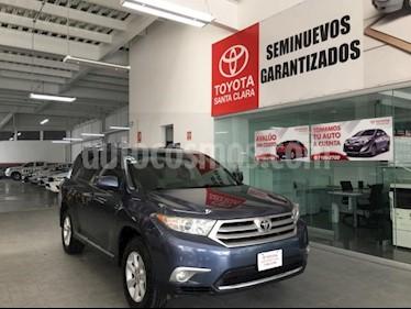 Foto venta Auto usado Toyota Highlander 5p Base V6/3.5 Aut (2012) color Azul precio $208,000