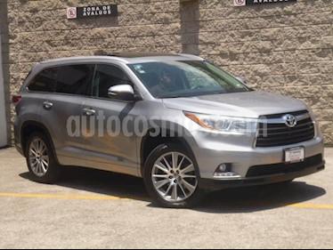 Toyota Highlander 5p Limited PR V6/3.5 Aut usado (2016) color Plata precio $495,000