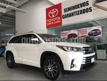 Foto Toyota Highlander 5p Limited V6/3.5 Aut usado (2017) color Blanco precio $499,000