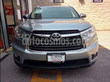Foto venta Auto usado Toyota Highlander 5p XLE V6/3.5 Aut (2016) color Plata precio $475,000