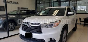 Foto venta Auto usado Toyota Highlander 5p XLE V6/3.5 Aut (2015) color Blanco precio $345,000