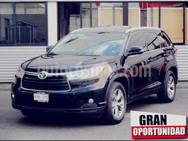 Foto venta Auto usado Toyota Highlander 5p XLE V6/3.5 Aut (2014) color Negro precio $320,000