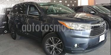 Foto venta Auto usado Toyota Highlander 5p XLE V6/3.5 Aut (2016) color Azul precio $398,000