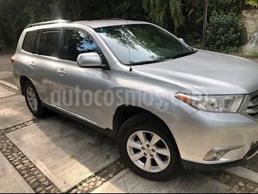 Foto Toyota Highlander Base Premium usado (2012) color Gris Plata  precio $189,000