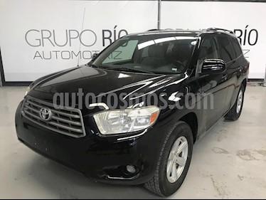 Foto venta Auto usado Toyota Highlander Base (2008) color Negro precio $159,000