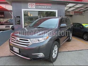 Foto venta Auto usado Toyota Highlander Base (2013) color Gris precio $255,000