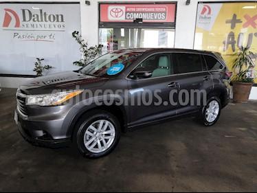 Foto venta Auto usado Toyota Highlander LE (2015) color Gris precio $379,000