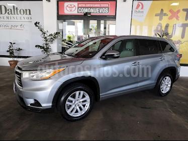 Foto venta Auto Seminuevo Toyota Highlander LE (2015) color Plata precio $379,000