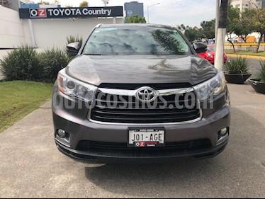 Foto venta Auto usado Toyota Highlander Limited Panoramic Roof (2016) color Gris Metalico precio $520,000