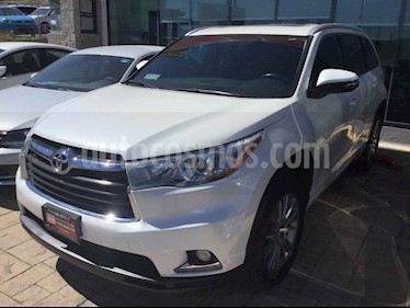 Foto venta Auto usado Toyota Highlander Limited Panoramic Roof (2014) color Blanco precio $357,000