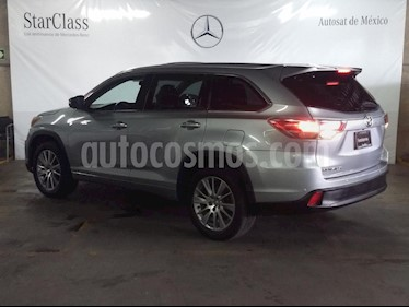 Toyota Highlander Limited Panoramic Roof usado (2014) color Plata precio $309,000