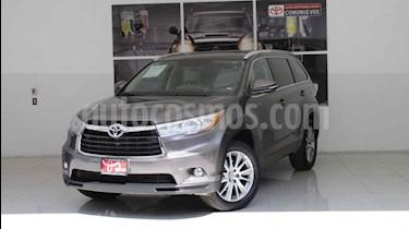 Foto venta Auto usado Toyota Highlander Limited Panoramic Roof (2014) color Gris precio $350,000