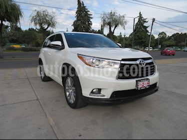 Foto venta Auto Seminuevo Toyota Highlander Limited Panoramic Roof (2015) color Blanco Perla precio $449,000