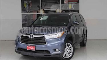 Foto venta Auto usado Toyota Highlander Limited Panoramic Roof (2014) color Azul precio $435,000