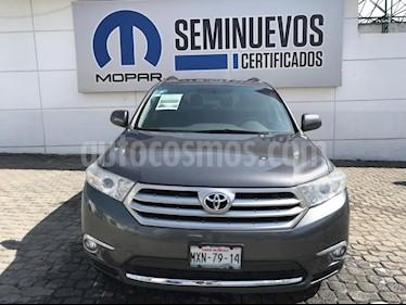 Foto venta Auto Seminuevo Toyota Highlander Limited (2013) color Gris precio $225,000