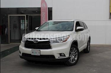 Foto venta Auto usado Toyota Highlander Limited (2015) color Blanco precio $399,000