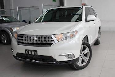 Foto venta Auto usado Toyota Highlander Limited (2012) color Blanco precio $225,000