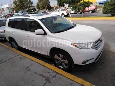 Foto venta Auto usado Toyota Highlander Limited (2013) color Blanco precio $239,000