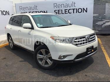 Foto venta Auto usado Toyota Highlander Limited (2012) color Blanco Perla precio $229,000